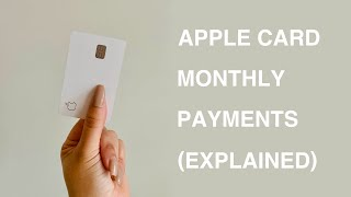 Apple Card Monthly Payments Explained   How to Pay Off The Apple Card Early