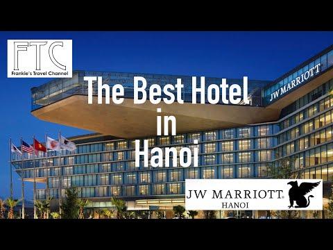 JW Marriott Hanoi, Vietnam - Executive Lakeview Suite (Best Hotel in Hanoi)