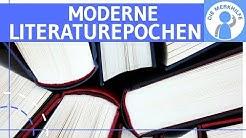 Moderne Literatur-Epochen / Gegenwartsliteratur erklärt - Impression-, Dada-, Symbol-, Surrealismus