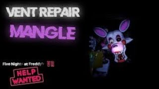 FNaF : Support Requested ROBLOX Mangle Vent Repair Walkthrough