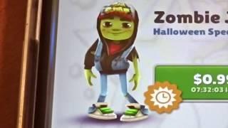 Unlocking Zombie Jake on Subway Surfers!