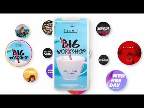 60+ Instastories Video Templates for Instagram Ads