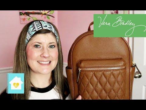 What's In My Bag & Review | Vera Bradley | Erin Condren Luxe Clutch