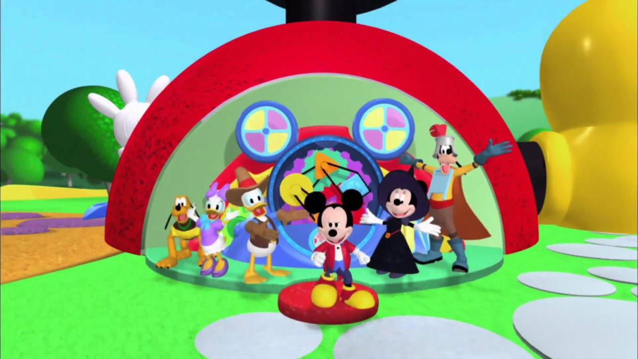 Mickey Mouse Clubhouse Halloween Hotdog Dance