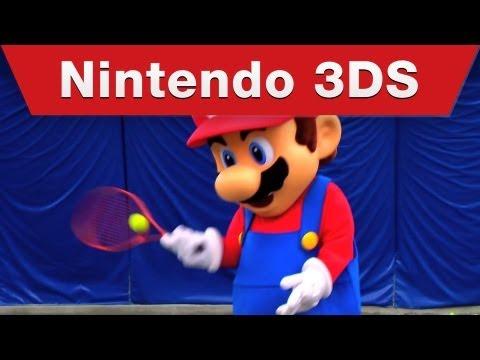 Mario Tennis Open - Mario Hits the Court