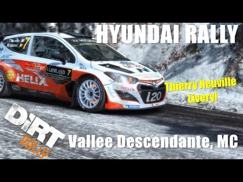 #238 DiRT RALLY - HYUNDAI RALLY(i20) - Vallee Descendante, MC |