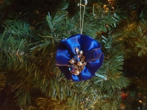Vintage Earring Christmas Ornaments
