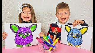 3 Marker Challenge video for kids