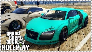 GTA 5 ROLEPLAY - Taking Audi R8 to Car Meet   Ep. 317 Civ