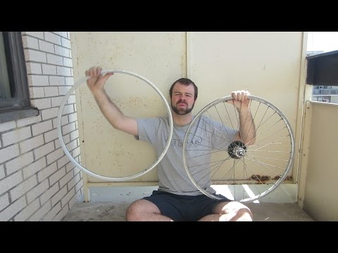 How to Rebuild a Bicycle Wheel with a New Rim