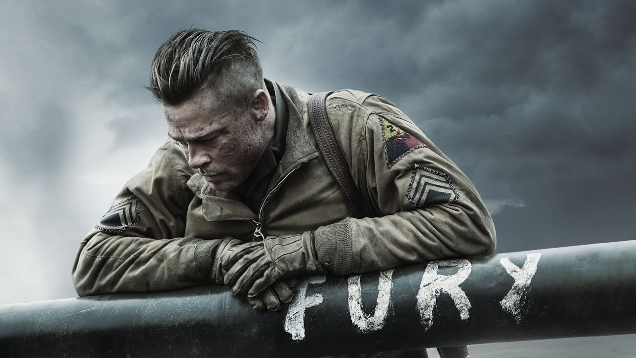 Fury (2014) - Best Combat Scenes - YouTube