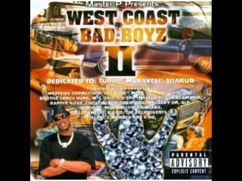 2PAC TRIBUTE - West Coast Bad Boyz - Master P -  R.I.P Tupac