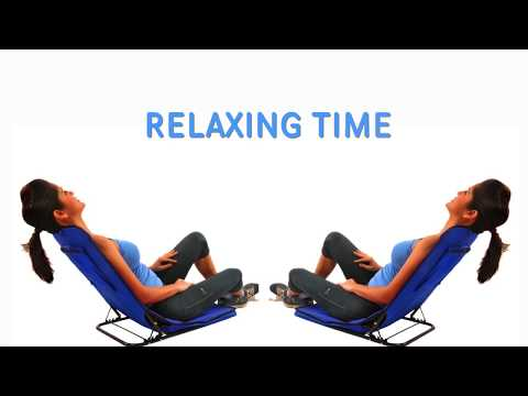 YOGA CHAIR  | Relaxing Indoor & outdoor | Easy to fold unfold & carry
