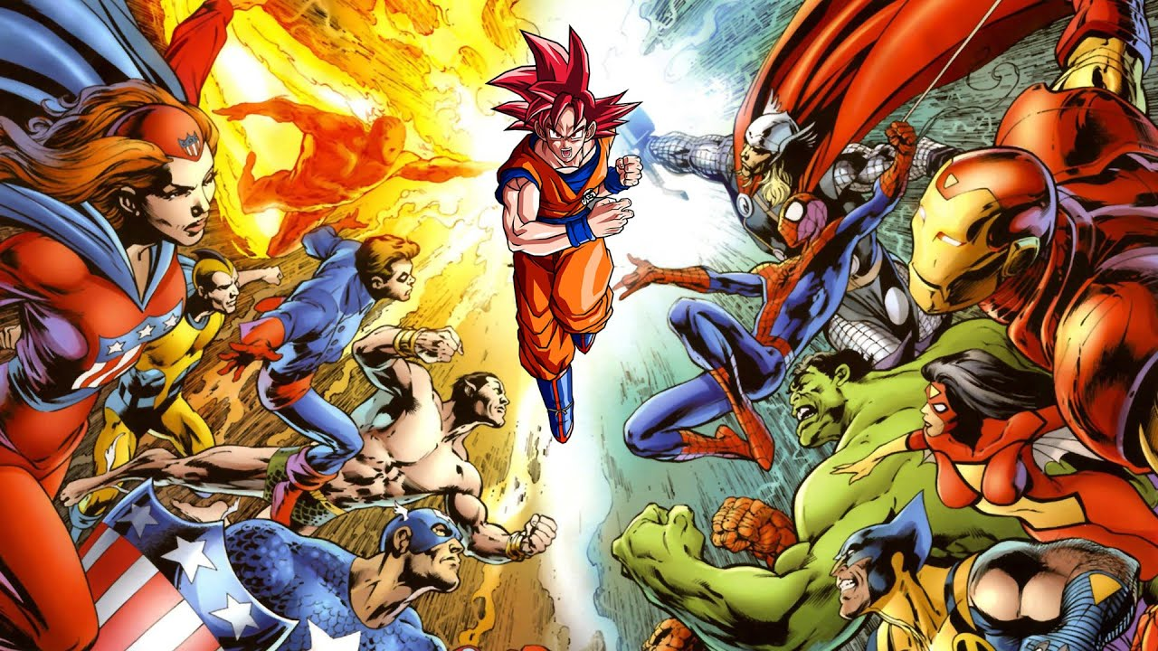 Anime Characters Vs Superheroes : Rate your characters top dc comics and marvel super