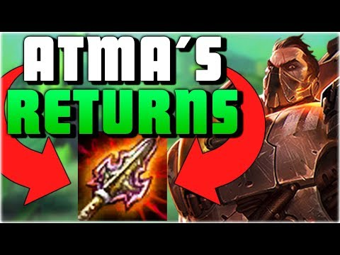 NEW ATMA'S IS ACTUALLY PERFECT ON DARIUS!! New Atma's Reckoning Darius Top Gameplay - PBE
