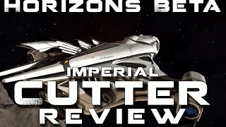 Elite Dangerous Horizons Beta Imperial Cutter Review and First Impressions