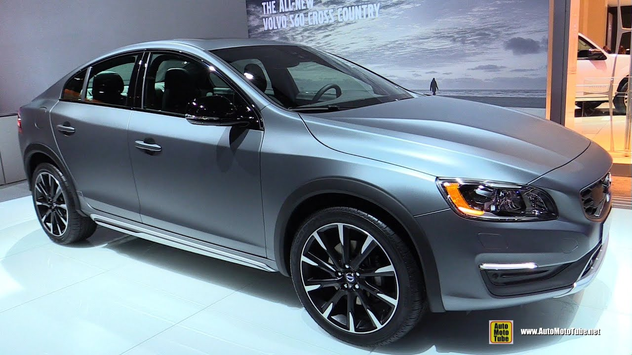 2016 Volvo S60 Cross Country T5 Awd Exterior And Interior Walkaround 2017 Detroit Auto Show