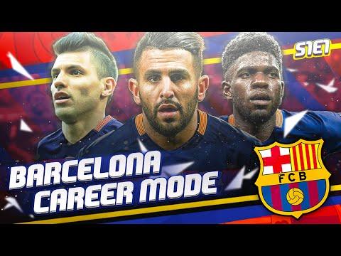 FIFA 16 BARCELONA CAREER MODE - S1E1 - THE REBUILD BEGINS!