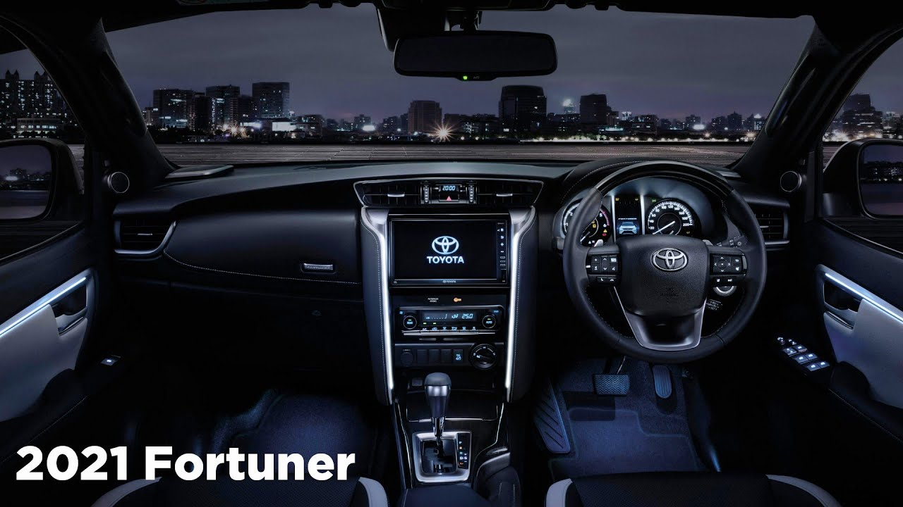 New 2021 Toyota Fortuner - INTERIOR - YouTube