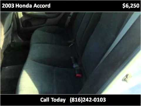 2003 Honda Accord Used Cars Kansas City MO