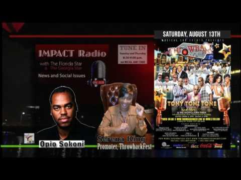 Impact: Opio Speaks to Promoter Serena King about Throwback Fest Jacksonville, Florida