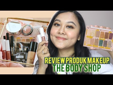 The Body Shop New Eye Shadow Palette Paint in Colour & Matte Lip Butter - YouTube