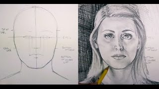 How to Draw Facial Proportions