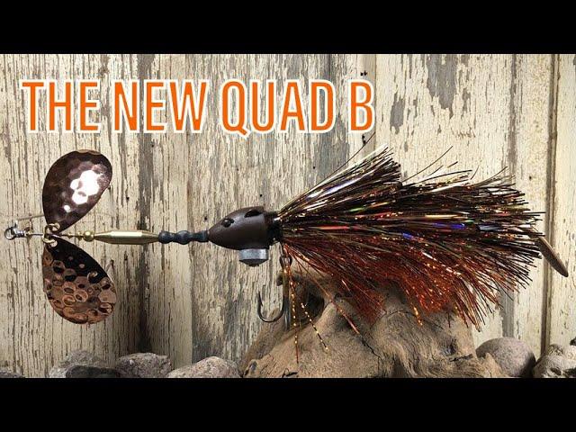 THE NEW QUAD B- Musky Bucktail