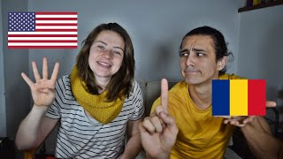 American Learning Romanian Numbers