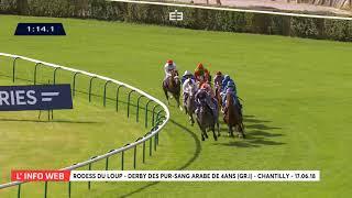 Vidéo de la course PMU QATAR DERBY DES PUR-SANG ARABE DE 4 ANS