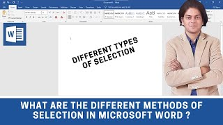 how to select in ms word - ms word magic tricks