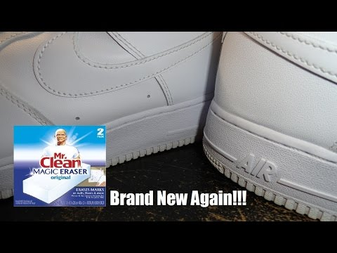 Make Your White Shoes Brand New Again