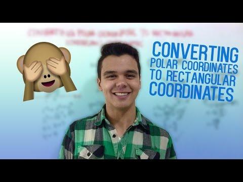 Converting Polar Coordinates to Rectangular (Cartesian) Coordinates