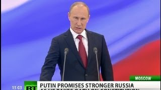 Back in the Saddle: Putin sworn in as Russia