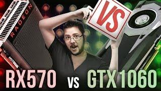 Chegou a HORA! RX 570 vs GTX 1060 3GB | 10 JOGOS - Fight