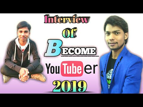 Become YouTuber Interview 2019 || Shubham Prajapati || become youtuber ka interview 2019