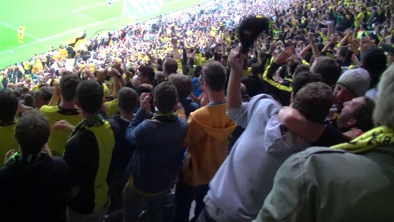 2:0 Henrikh Mkhitaryan: TSV 1860 München - Borussia Dortmund  BVB Gästeblock Pokal