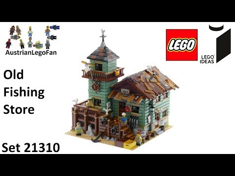 Lego Ideas 21310 Old Fishing Store - Lego Speed Build Review