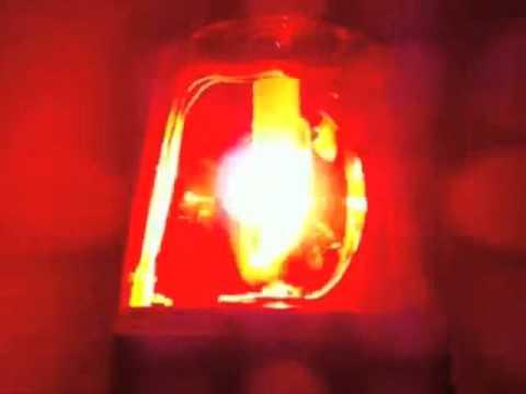 Flashing Red Light >> Flashing Red Beacon Light