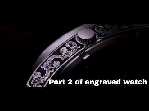 From start to finish - hand engraved watch part 2 | Reinis Stripnieks