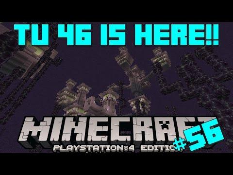 Minecraft PS4 Survival #56 | TU46, End Cities, Elytra & More!