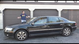 The Volkswagen Phaeton W12 Was a $120,000 VW Ultra-Luxury Sedan