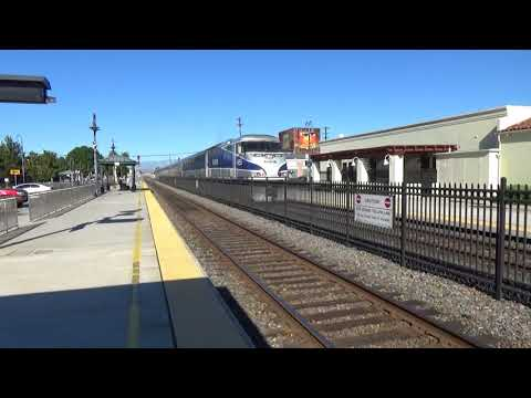 N.B. AMTRAK PACIFIC SURFLINER Orange Metrolink Station December 6, 2017