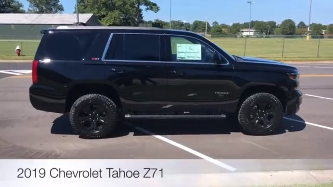 2019 Chevrolet Tahoe LT 4x4 Z71 Midnight Edition Walk ...