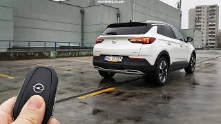 Opel Grandland X 1.2 Turbo 130 TEST POV Drive & Walkaround