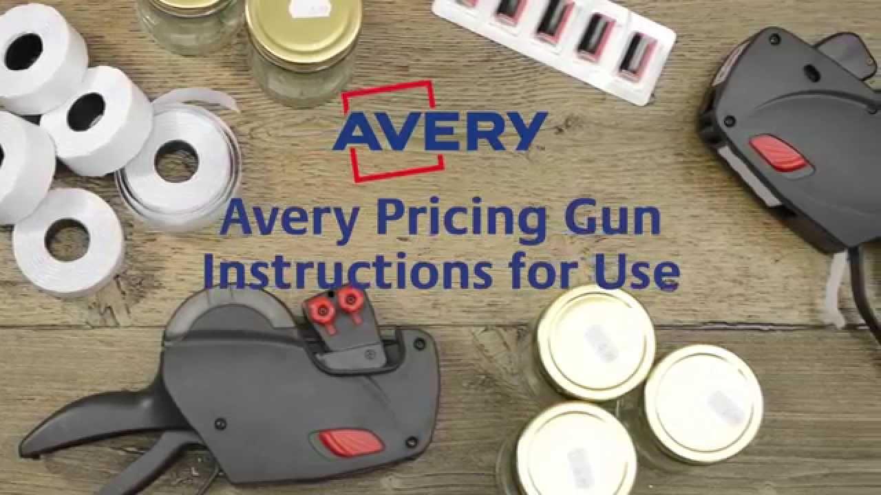 avery pricing gun instructions youtube rh youtube com User Manual User Manual PDF