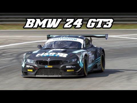 BMW E89 Z4 GT3 - racing at Zolder 2018