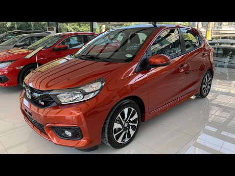 THE ALL NEW 2019 HONDA BRIO 1.2 RS BLACK TOP CVT ( Philippines ) Phoenix Orange