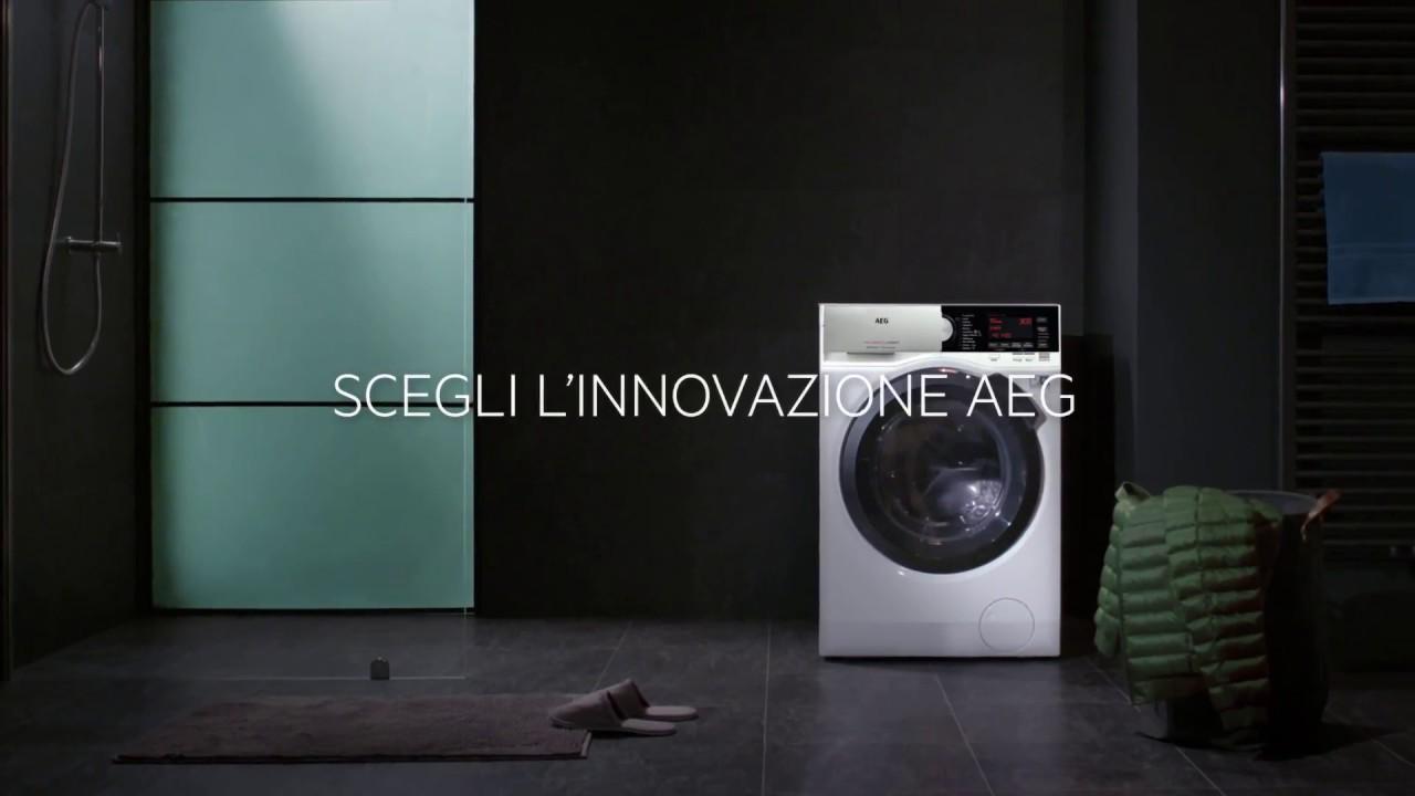 AEG - Lavatrice serie 9000 - Promozione ZeroPiù - YouTube