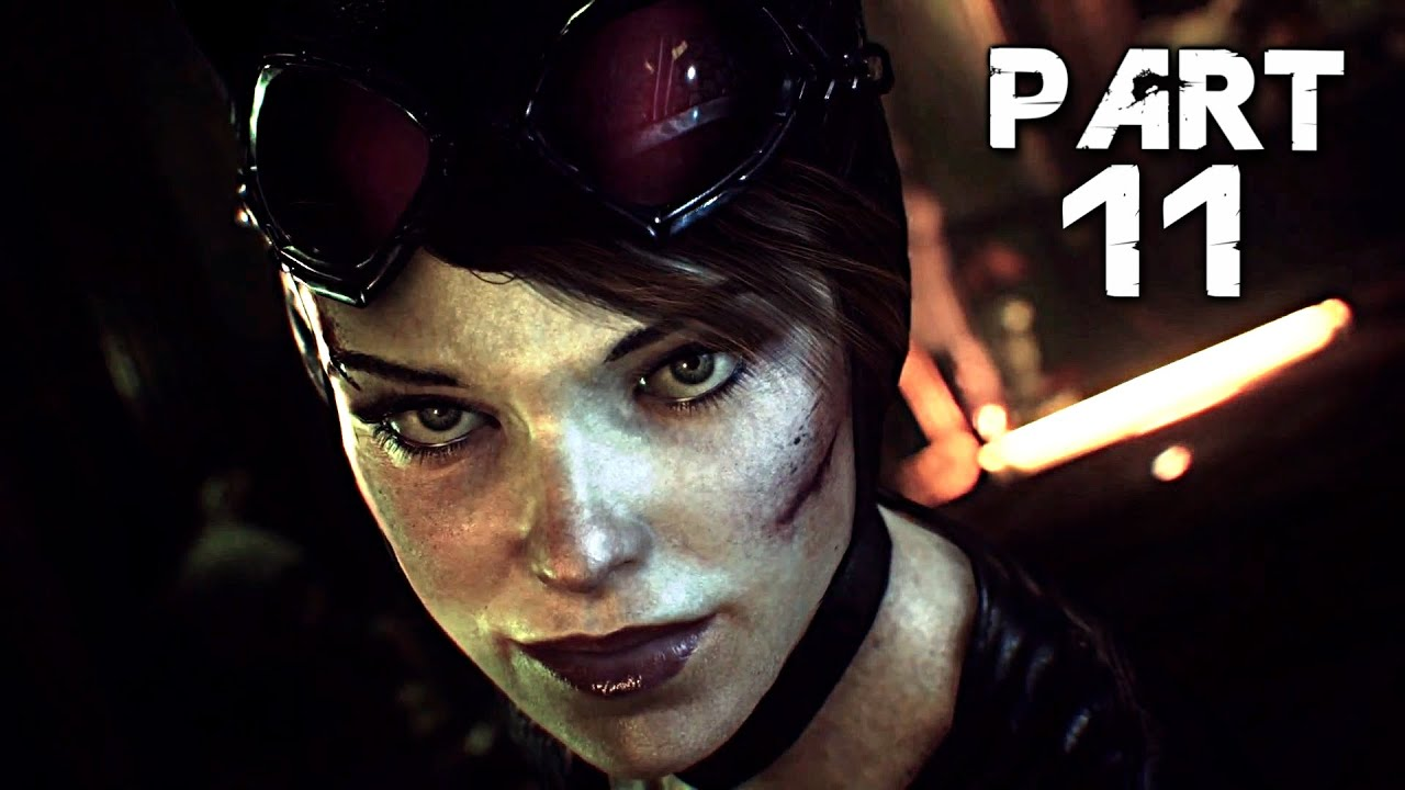 Batman arkham knight walkthrough gameplay part 11 catwoman ps4